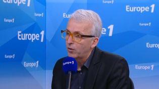Michel Lussault, président du Conseil supérieur des programmes, sur Europe 1, le 7 mai 2015. (EUROPE 1)
