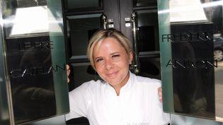 Christelle Bruavient d'être sacrée meilleure pâtissière au monde. (LAURENT MAMI / MAXPPP)
