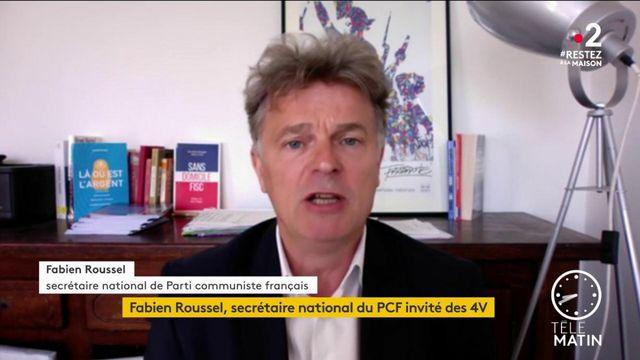 Rentrée le 11 mai: «L'école ne doit pas être transformée en garderie pour permettre aux parents d'aller travailler», juge Fabien Roussel (PCF)