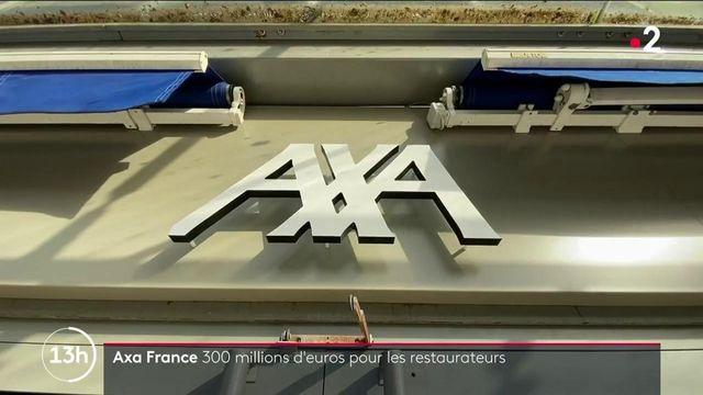 Assurance : Axa cède et va verser 300 millions d'euros aux restaurateurs