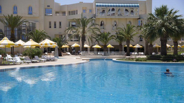 Le Riu ImperialMarhabaHotel, à Port El Kantaoui, près de Sousse (Tunisie), où une attaque terroriste a fait 38 morts, le 26 juin 2015. (KENZO TRIBOUILLARD / AFP)