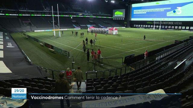 Covid-19 : le vaccinodrome de La Défense Arena ouvre ses portes