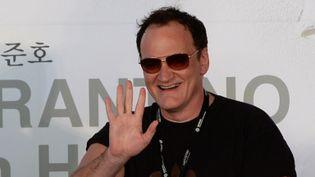 Quentin Tarantino au festival sud-coréen de Busan, le 11 octobre 2013  (TED ALJIBE / AFP)