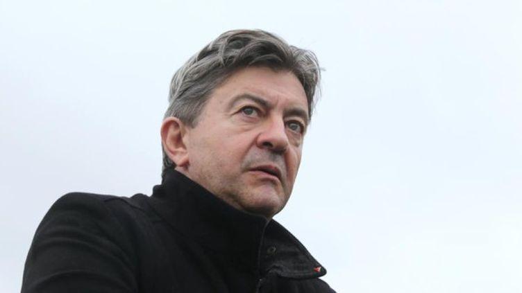 Jean-Luc Mélenchon, le 22 août 2014, à Pau (Pyrénées-Atlantiques). (NICOLAS TUCAT / AFP)