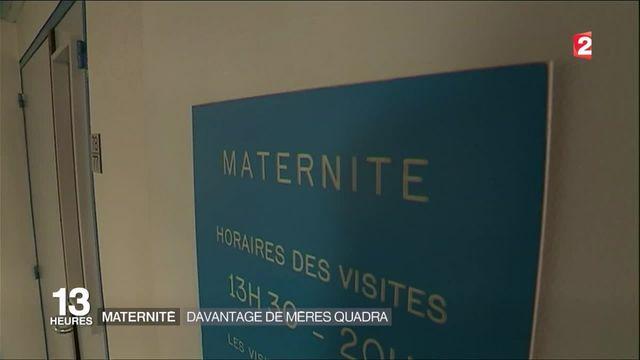 Maternité : mère à quarante ans