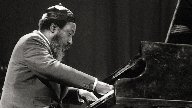 Thelonious Monk en concert à Paris, Salle Pleyel, en décembre 1969  (Eleonore Bakhtadze / AFP)