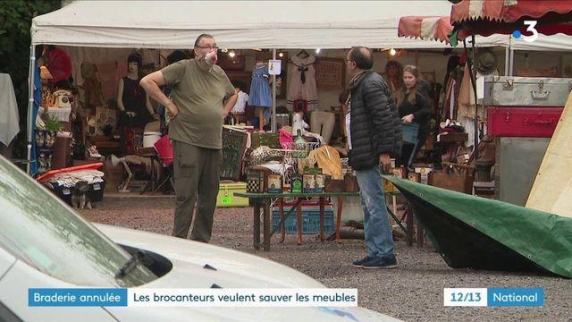 Lille : face à l'annulation de la braderie, les brocanteurs s'adaptent