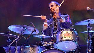 Ringo Starr à la batterie pour les 50 ans de Woodstock en août prochain. (JOHN ANGELILLO / MAXPPP)