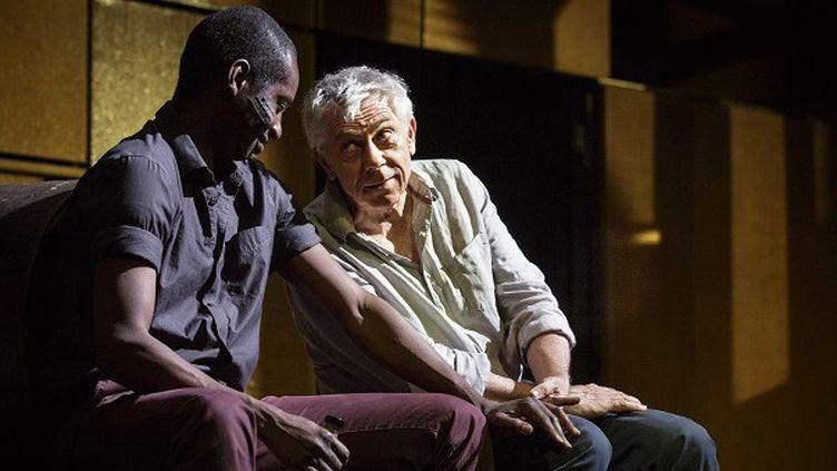 """""""Combat de Nègre et de chiens"""" par la compagnie le Bredin, mise en scène Laurent Vacher  (Christophe Raynaud de Lage )"""