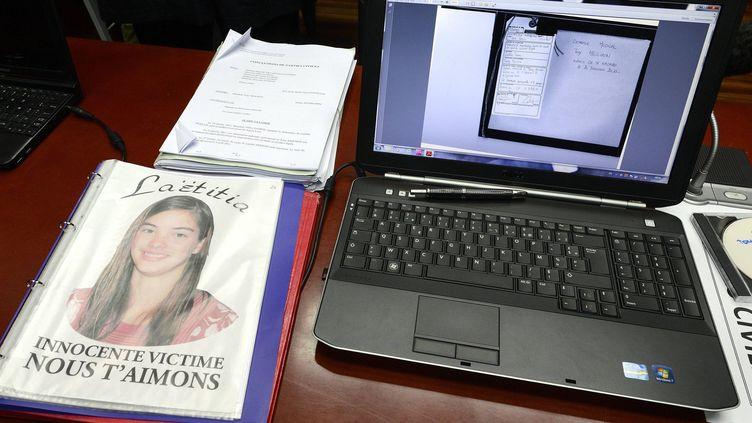 Le procès de Tony Meilhon, accusé du meurtre de Laëtitia Perrais, s'est ouvert le 22 mai 2013 devant la cour d'assises à Nantes (Loire-Atlantique). (MAXPPP )