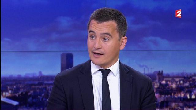 """Gérald Darmanin : """"Nous n'augmenterons pas les impôts"""""""