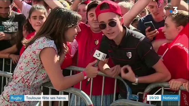 Rugby : retour à Toulouse pour les champions de France