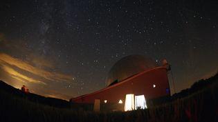 Le 8 août 2007,lors du 17e festival d'astronomie de Fleurance (Gers). (LIONEL BONAVENTURE / AFP)