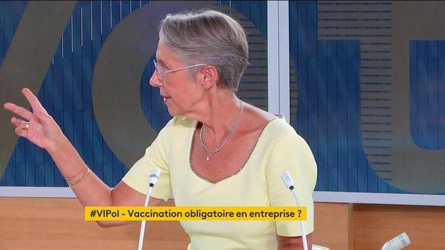 """Covid-19 : La ministre du Travail, Élisabeth Borne, estime que le télétravail sera un """"acquis"""" de la crise"""
