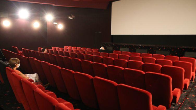 Une salle de cinéma à Mulhouse le 7 août 2020. (JEAN-FRANÇOIS FREY / MAXPPP)
