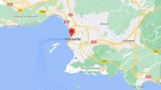 Les deux fusillades se sont déroulées à Marseille (Bouches-du-Rhône) dans la soirée du 7 septembre et dans la nuit du 7 au 8 septembre 2021. (CAPTURE ECRAN GOOGLE MAPS)