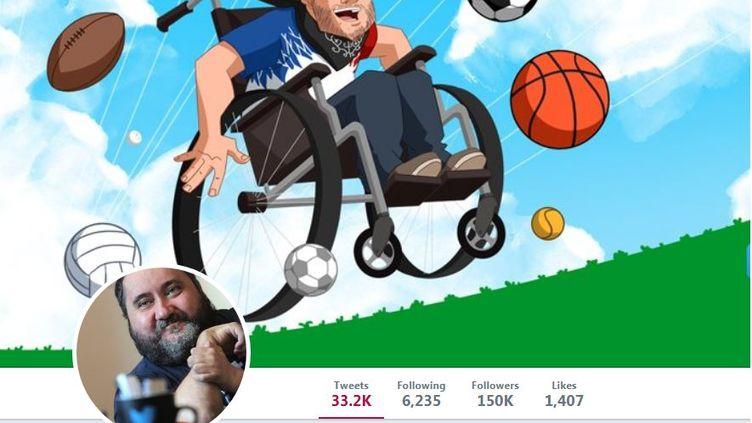 Capture d'écran du compte Twitter @Philousports,en janvier 2018. (TWITTER)