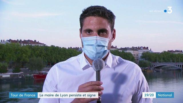 Tour de France : le maire de Lyon persiste et signe
