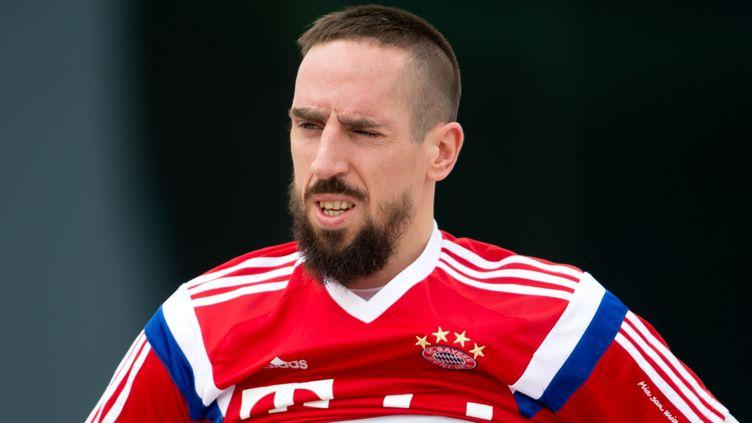 Franck Ribéry, le joueur du Bayern Munich (SVEN HOPPE / DPA)