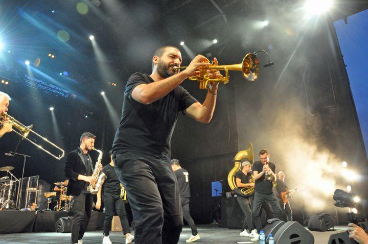 Ibrahim Maalouf et le Haïdouti Orkestar (Olivier Flandin / FTV)