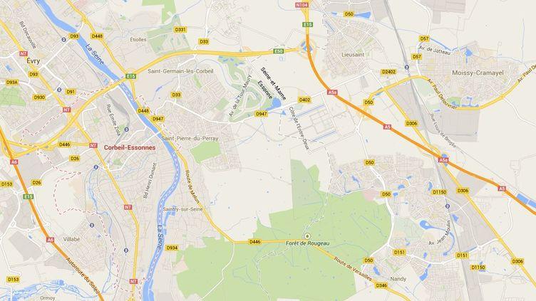 La préfecture de l'Essonne a ordonné la fermeture d'une boucherie de Corbeil-Essonnes où de la viande avariée a été découverte. ( GOOGLE MAPS / FRANCETV INFO )