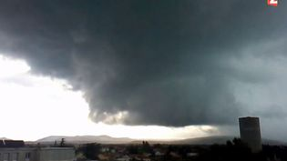 Une tornade a frappé le sud de la France, tuant deux personnes, dimanche 20 juillet. ( FRANCE 2)