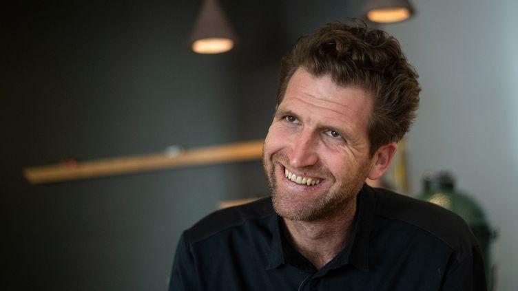 """Alexandre Mazzia a été sacré meilleur cuisinier de l'année par le """"Gault&Millau"""". (CHRISTOPHE SIMON / AFP)"""