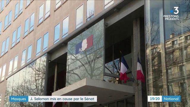 Crise sanitaire : Jérôme Salomon mis en cause par le Sénat