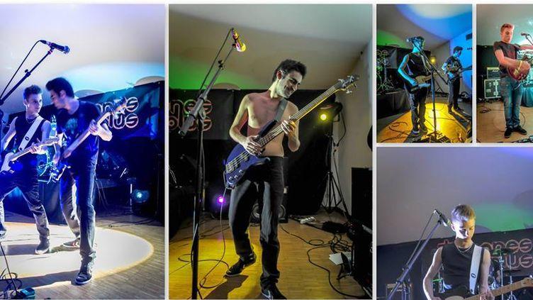 Les Trigones Plus, quatre jeunes qui aiment faire de la musique tout simplement  (Trigones Plus)