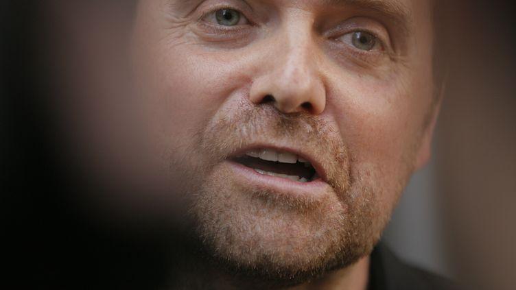 Bastien Millot,le cofondateur de l'agence de communication Bygmalion,à Paris, le 1er octobre 2014. (MATTHIEU ALEXANDRE / AFP)