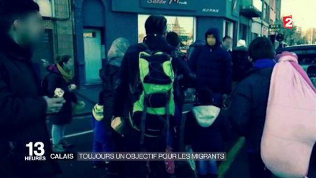 Calais : toujours un objectif pour les migrants