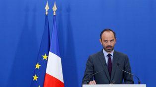 Le Premier ministre Edouard Philippe, lors d'une conférence de presse à Matignon à Paris, le 29 juin 2017. (GEOFFROY VAN DER HASSELT / AFP)