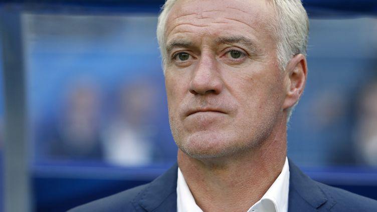 Le sélectionneur des Bleus Didier Deschamps (THOMAS SAMSON / AFP)