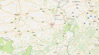Etudiante à la faculté vétérinaire de Liège (Belgique),la FrançaiseLouise Lavergne a été retrouvée morte poignardée dans son logement, le 9 octobre 2017. (GOOGLE MAPS / FRANCETV INFO)