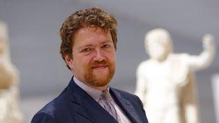 Xavier Dectot, directeur du Louvre-Lens en 2013  (Lefebvre/PHOTOPQR/VOIX DU NORD)