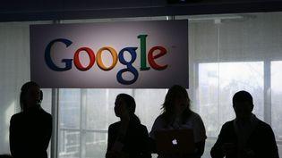 Dans les locaux de Google à Mountain View (Californie), en janvier 2010. (ROBERT GALBRAITH / POOL)