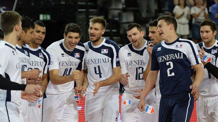 L'équipe de France de volley (JULIEN CROSNIER / DPPI MEDIA)