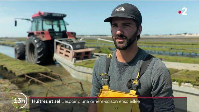 Noirmoutier : le mauvais temps perturbe la récolte des ostréiculteurs et des sauniers