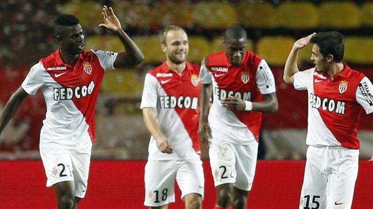 Les Monégasques, toujours invaincus en Ligue des Champions, espèrent retrouver le chemin des filets, après deux matches sans buts.  (VALERY HACHE / AFP)