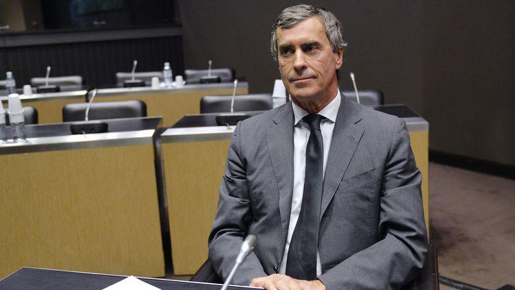 L'ancien ministre du Budget Jérôme Cahuzac avant son audition par lacommission d'enquête parlementaire, le 26 juin 2013 à l'Assemblée nationale, à Paris. (MIGUEL MEDINA / AFP)