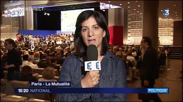 """Meeting à la mutualité : """"Emmanuel Macron va-t-il s'émanciper ?"""""""