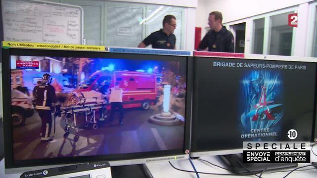 Les pompiers de Paris racontent l'intervention aux alentours du Bataclan.