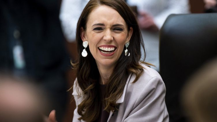 La Première ministre néo-zélandaise Jacinda Ardern, le 6 novembre 2020. (DAVE LINTOTT / AFP)