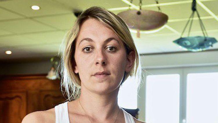 (Anne-Sophie Leclère, l'ex-candidate FN condamnée à de la prison ferme mardi © MAXPPP)