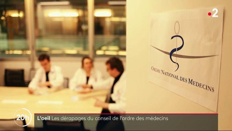 Bureaux avec piscine, bénévoles rémunérés: l'Ordre des médecins critiqué (FRANCE 2 / FRANCETV INFO)