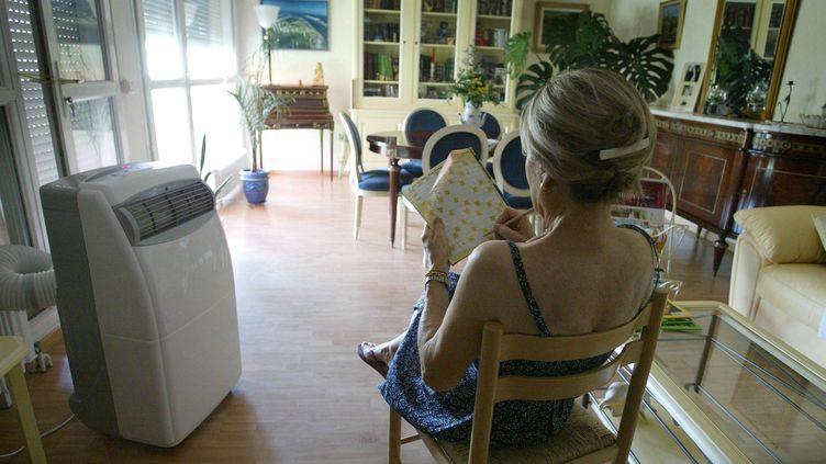 Pour bien utiliser votre climatiseur,le mieux estde garder un écart raisonnable entre la température extérieure et celle de votre logement. (MAXPPP)