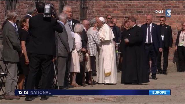 Le pape François en pèlerinage à Auschwitz