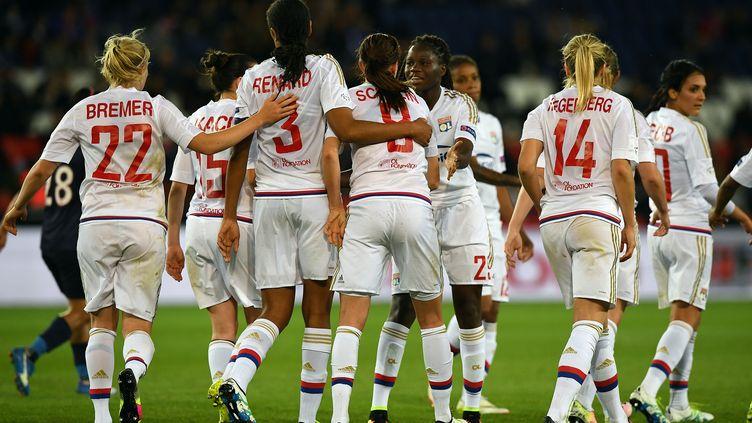 Les féminines de Lyon restent au sommet (FRANCK FIFE / AFP)
