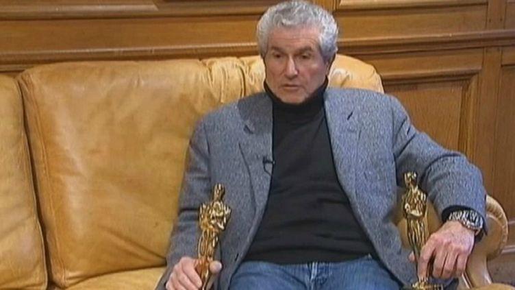 Claude Lelouch a étédeux fois oscarisépour Un Homme et une femme, en 1967. (FTVI / FRANCE 2)