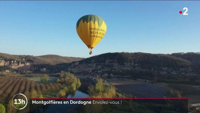 Dordogne : un magnifique voyage à bord d'une montgolfière